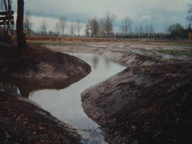 im Hintergrund -parallel zur Schinvelder Str. Ri. ehemal. Zoll gurt erkennbar die gleichzeitig gebaute Trockenmauer erkennbar