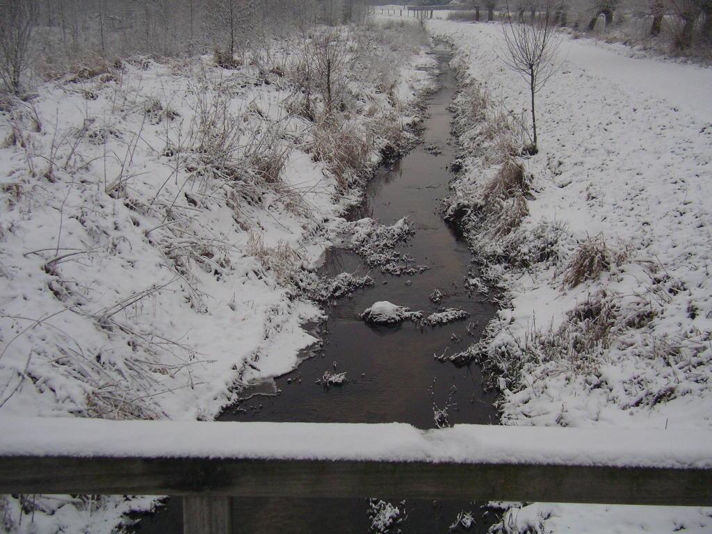 """langsam wird es """"eng"""" - sollten selbst Rodebach, Rode Beek, Russcherbeek ... ganz zufrieren!"""