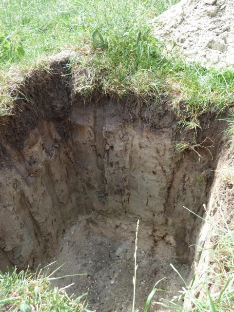ein Blick in den Untergrund für Geologen!