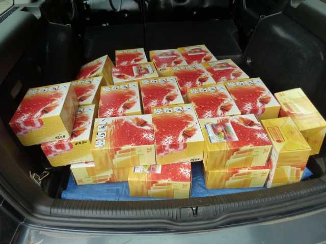 neut ein Kofferraum voll Äpfel - vom Apfel zum Saft