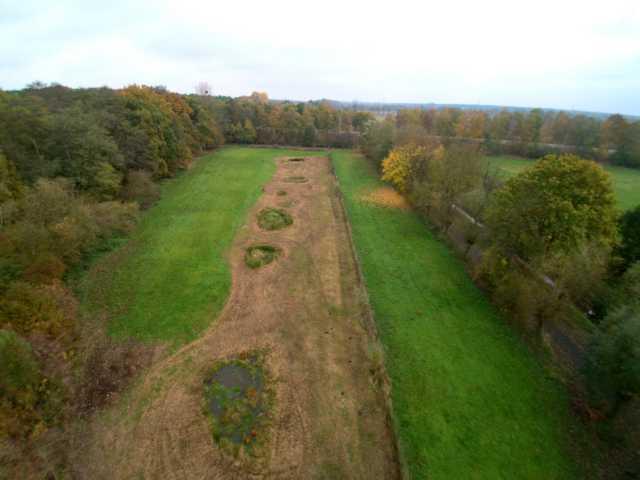 Freilegen aller Uferbereiche der Blänken am Wildpark Gangelt (im ehemal. Rodebachverlauf Richtung Etzenrather Mühle)
