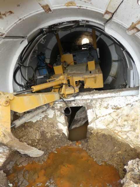 Reanaturierung Rode Beek: der Tunnel unter der 274 steht