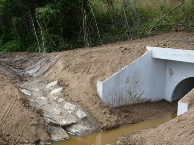 Zufluss eines ehenal. Entwässerunghsgrabens